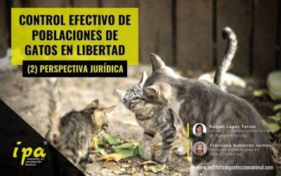Control Efectivo de Poblaciones de Gatos en Libertad. Parte 2. Perspectiva Jurídica